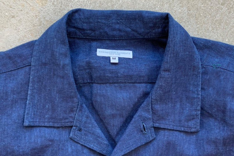 Engineered Garments Engineered Garments  Navy CL Solid