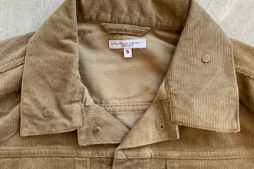 Engineered Garments Trucker Jacket Khaki 14W