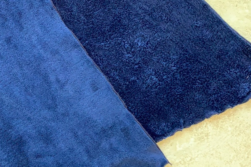 Engineered Garments Long Scarf Navy Polyester