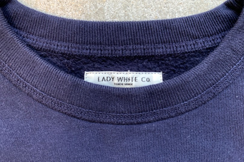 Lady White Co. 44 Fleece Navy Sweatshirt