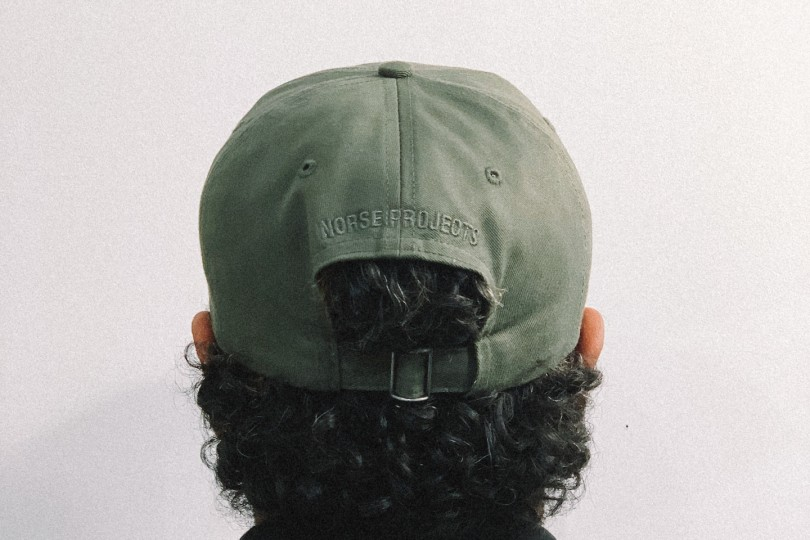 Norse Projects Hat NP Twill Sports Cap Ivy Green
