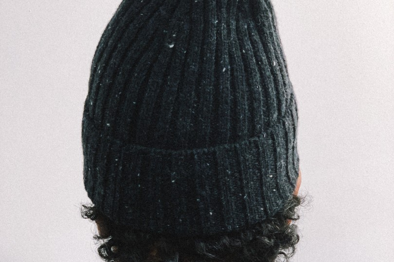 Norse Projects Beanie Neps Beanie Charcoal Melange
