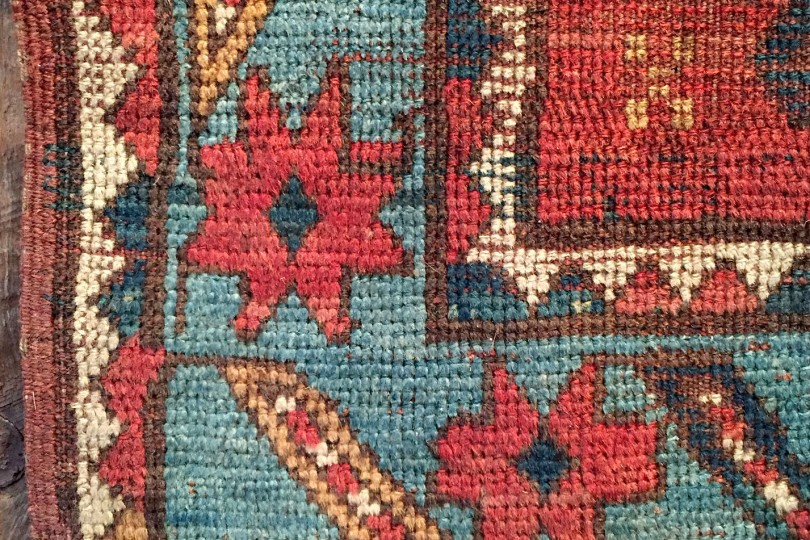 Independence Vintage Goods 19th Century Caucasian Rug Vintage