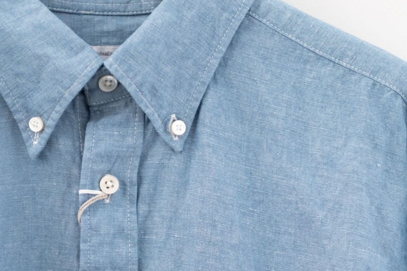 Engineered Garments 19th Century BD Shirt Light Blue Chambray