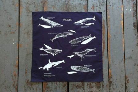 The Printed Image Survival Bandanna Whales